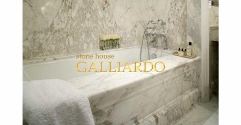 Ванна из мрамора Callacata Vagli