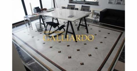 Мраморная плитка Bianco Carrara