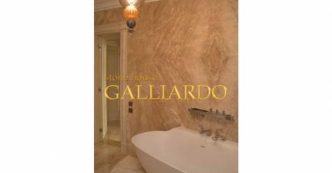 Ванная из мрамора Daino Nuvolato